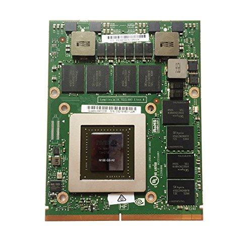 Genuine New Laptop 4GB GDDR5 Graphics Video Card NVIDIA Quadro K4100M for Dell Precision M6600 M6700 M6800 Mobile Workstation N15E-Q3-A2 4 GB MXM VGA Board Upgrade (Vga Nvidia Quadro)
