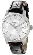 Tissot Men's TIST0554101603700 PRC 200 Analog Display Swiss Quartz Brown Watch
