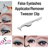 Simply Gorgeous Tool False Eyelashes Extension Applicator Remover Clip Tweezer Nipper
