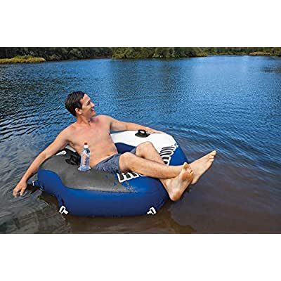 Intex 58854EP River Run Connect Lounge Inflatable Floating Water Tube (3 Pack): Toys & Games