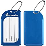 Travelambo Aluminum Luggage Tags & Bag Tags