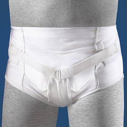 FLA Soft Form Hernia Support Belt Guard Adjustable Crotch Pressure Inguinal Men