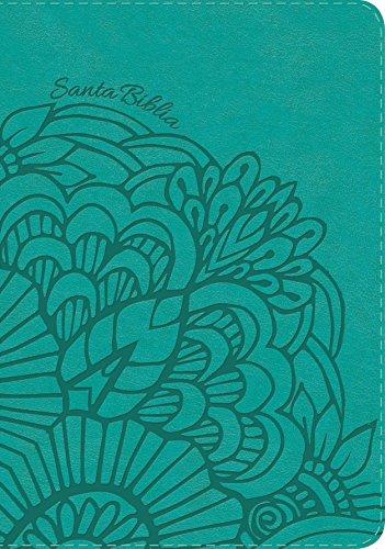 RVR 1960 Biblia Letra Gigante aqua, símil piel (Spanish Edition)