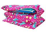 KinderMat PBS Kids Full Cover Sheet, Pillowcase Style Sheet Fits Rainbow Designer, Daydreamer, Heavy-Duty, and Enduro, 100% Cotton Flannel, Narwhal Expedition, Large