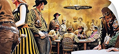 Don Lawrence Wall Peel Wall Art Print entitled Wild West (Wild West Costume Images)
