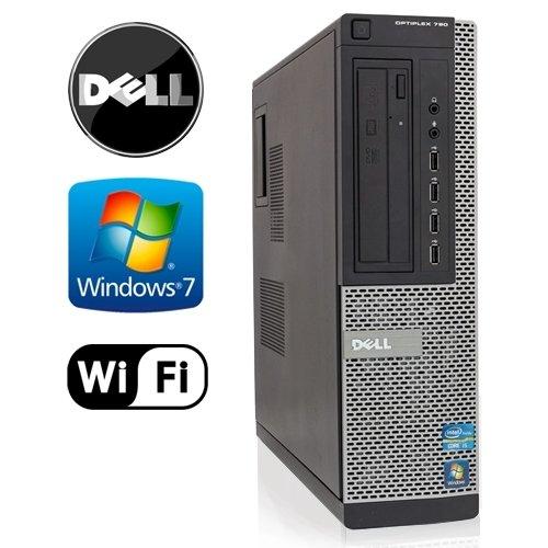 Dell OptiPlex 790 Desktop - Intel Quad Core i5-2400 3.1GHz - 8GB DDR3 - NEW 1TB HDD - Windows 7 Pro 64-Bit - WiFi - DVD-RW (Prepared by ReCircuit) (Used Quad Core Desktop compare prices)