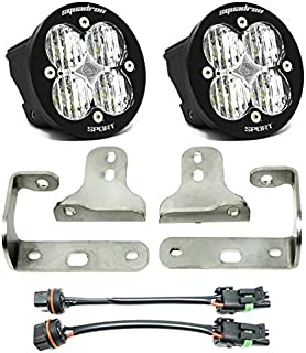 product image for Baja Designs Sport/Sport-S Squadron-R Sport LED Fog Pocket Light Kit - Compatible with Jeep Wrangler JL