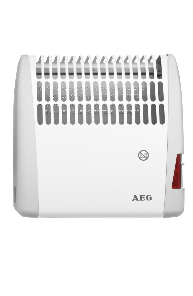 Der Konvektor von AEG im Betrieb