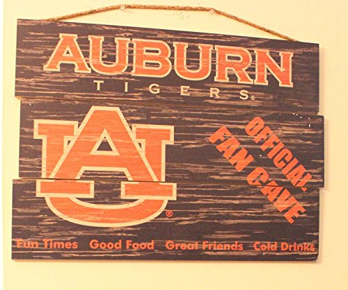 NCAA (Auburn University, War Eagle) Man Cave Sign. Officially Licensed. Distressed, Hangable