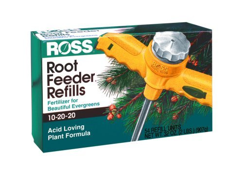 Root Feeder Refills - Ross Evergreen/Acid Loving Root Feeder Refills 54-Pack 14250 Garden, Lawn, Supply, Maintenance