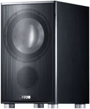 Canton As 85 Sc Schwarz Subwoofer 150 W Elektronik
