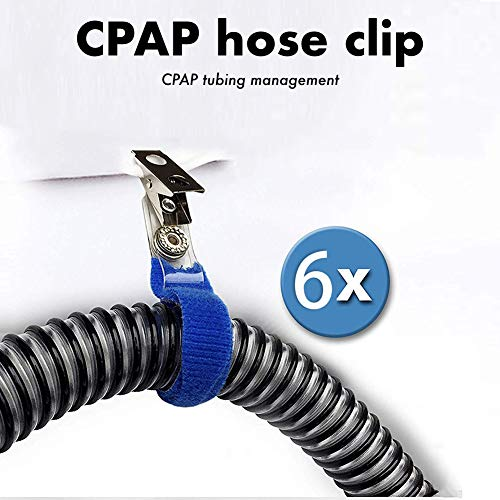 CPAP Hose Clips Holder, Hanger & Tube Management (6 Pack)