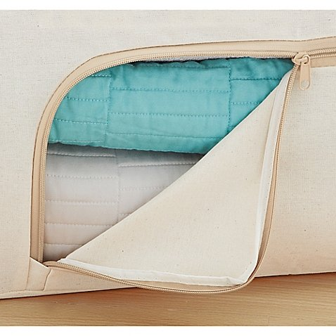 Real Simple Blanket Trunk in Natural