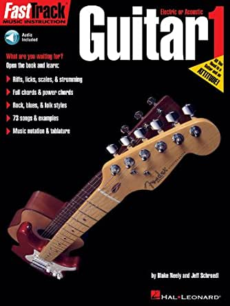 FastTrack Guitar Method - Book 1 (Fasttrack Series) (English ...