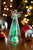 Glass Color Changing LED Angel