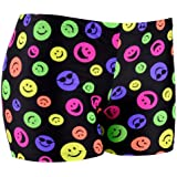 Tuga Girls / Women Spandex Shorts, 6 Inch Inseam - Prints