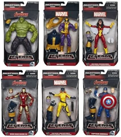 Marvel Legends Vision Loose Target Exclusive Avengers Age of Ultron Infinite