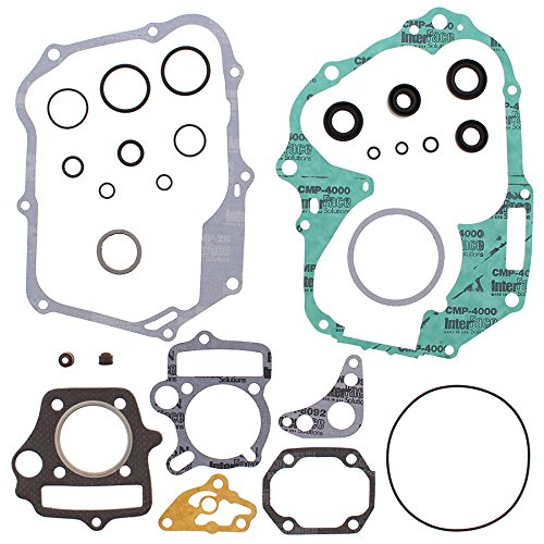 New Winderosa Gasket Kit With Oil Seals for Honda CT 70 Trail 94