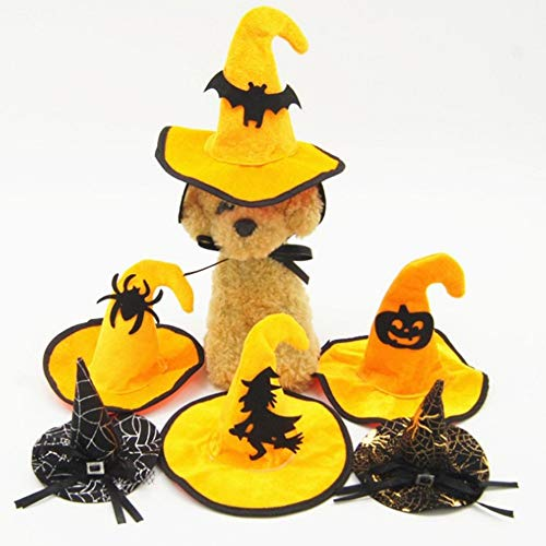 Halloween Decoration Pet Dog Cat Cap Hat COS Funny Hair Accessories Pet Dog Accessories Supply for $<!--$16.40-->