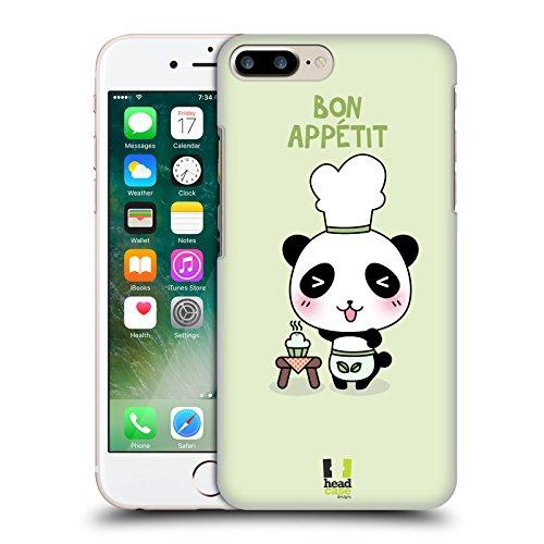 Head Case Designs Chef Kawaii Panda Serie 2 Cover Retro Rigida per Apple iPhone 7 Plus / 8 Plus
