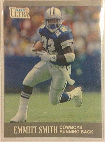 1991 Fleer Ultra Emmitt Smith # 165 NFL Football Trading Card