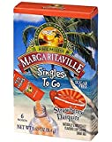 Margaritaville Singles To Go Water Drink Mix Flavored Non-Alcoholic Powder Sticks, Strawberry Daiquiri, 6 Count