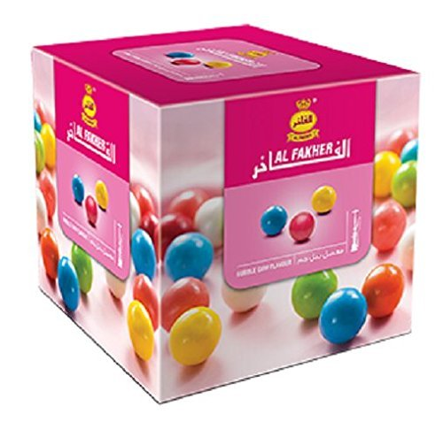Al Fakher Hookah Shisha Flavors 250g - Non Tobacco (Bubble Gum)