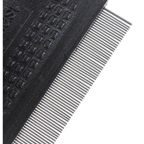 Runfon Pet Flea Comb Dog Lice Comb Cat Dust Comb 60 x 55 mm Random Colours