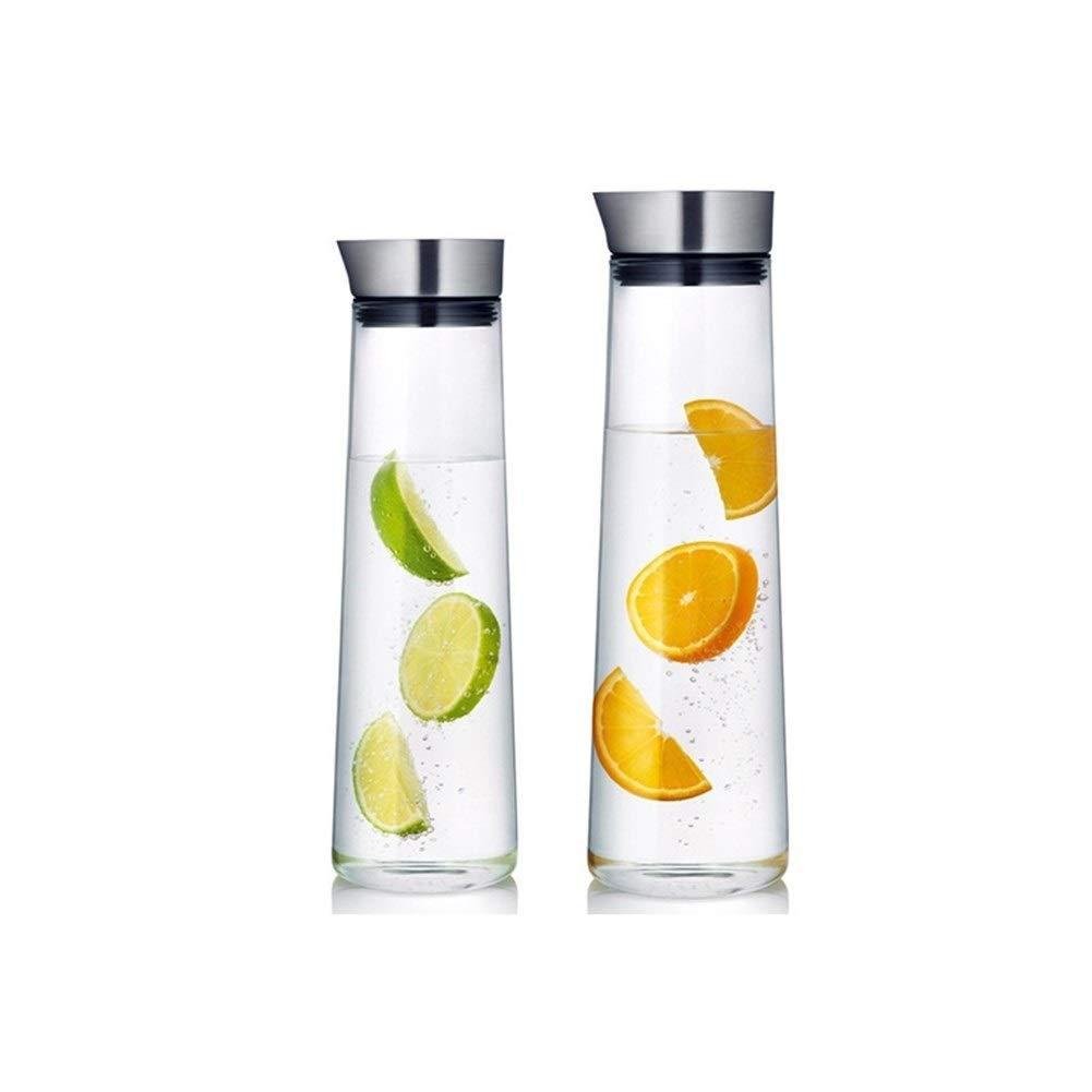 Lucy Day Germany Blom Soft Drink Cold Water Dispenser Kettle Dispensador De Agua Lemonade Soda Juice Jug Su Sebili Pitcher Glass Carafe (Color : 1000ml)
