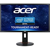 Acer XF270HBMJDPRZ 27 Wide 16:9 FHD FreeSync 1ms LED DVI HDMI DisplayPort USB 3.0 Hub Height adj. Pivot EURO/UK EMEA TCO6.0 Black Acer EcoDisplay
