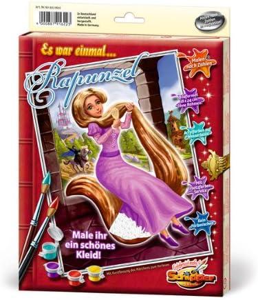 Taille 40 x 50 cm 609150622 Schipper Tableau /à Dessin Rapunzel