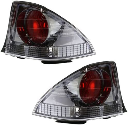 Koolzap For 01 Lexus IS300 Taillight Taillamp Outer Brake Light Lamp Left /& Right Set PAIR