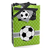 Big Dot of Happiness GOAAAL! - Soccer - Baby Shower or Birthday Party Favor Boxes - Set of 12