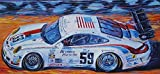 Famous 59 Brumos Porsche Print Signed by Hurley