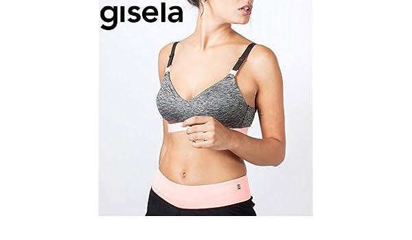 GISELA - Sujetador Deportivo Foam Mujer Color: Gris Talla: 85 ...