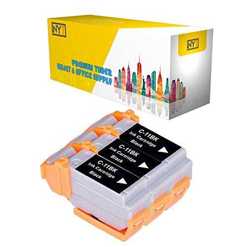 New York Toner New Compatible 3 Pack BCI-11BK Black High Yield Inkjet For - BJCAN-70 . -- - Inkjet 11bk Bci