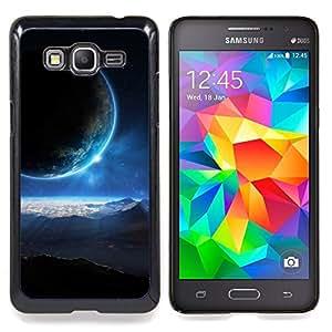 "Qstar Arte & diseño plástico duro Fundas Cover Cubre Hard Case Cover para Samsung Galaxy Grand Prime G530H / DS (Blue Sun Light planetas alienígenas Mundo Universo Arte"")"
