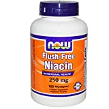 Flush Free Niacin 250mg 180 VegiCaps (Pack of 2) For Sale