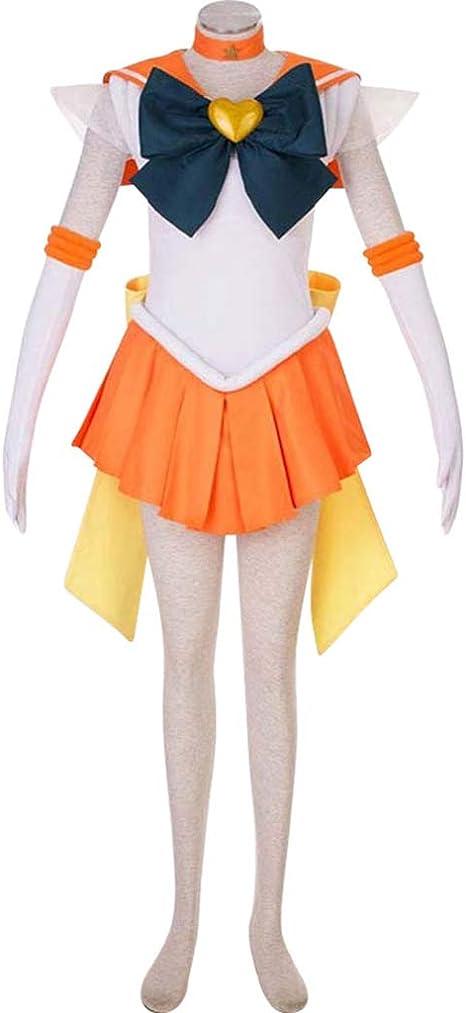 Baipin Disfraz Cosplay de Sailor Moon, Disfraz de Guerrera Luna ...