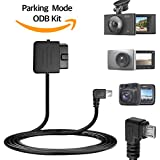 Snap N Go Quick Parking Mode DIY Hardwiring Kit Continuously Recording Micro USB Port Compatible with Roav C1 C2 A1 Aukey Xiaomi Yi DDPai Mini Mini2 dashcam dash camera car blackbox