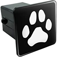 Truck Receiver Hitch Plug Insert Trailer Hitch Cover Puppy Paw CafePress