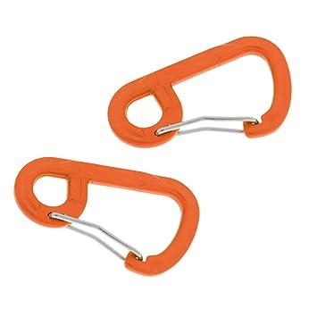 Amazon.com: YUN Deals (paquete de 2) mosquetón de aluminio ...