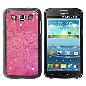 Design for Girls Plastic Cover Case FOR Samsung Galaxy Win I8550 Pink Glitter Shine OBBA