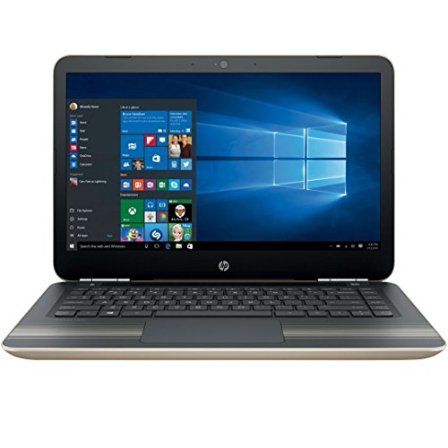 2017 HP Pavilion 14'' HD WLED-Backlit HD (1366x768) Display Laptop, Intel Core i3-6100U 2.3GHz, 8GB RAM, 1TB HDD, 802.11AC, Bluetooth, B&O Play, Up to 8.5 Hours Battery Life, Windows 10 Home by HP Pavilion