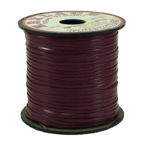 Springfield Leather Company's Rexlace Maroon Plastic - Craft Rexlace Lacing Braiding Plastic