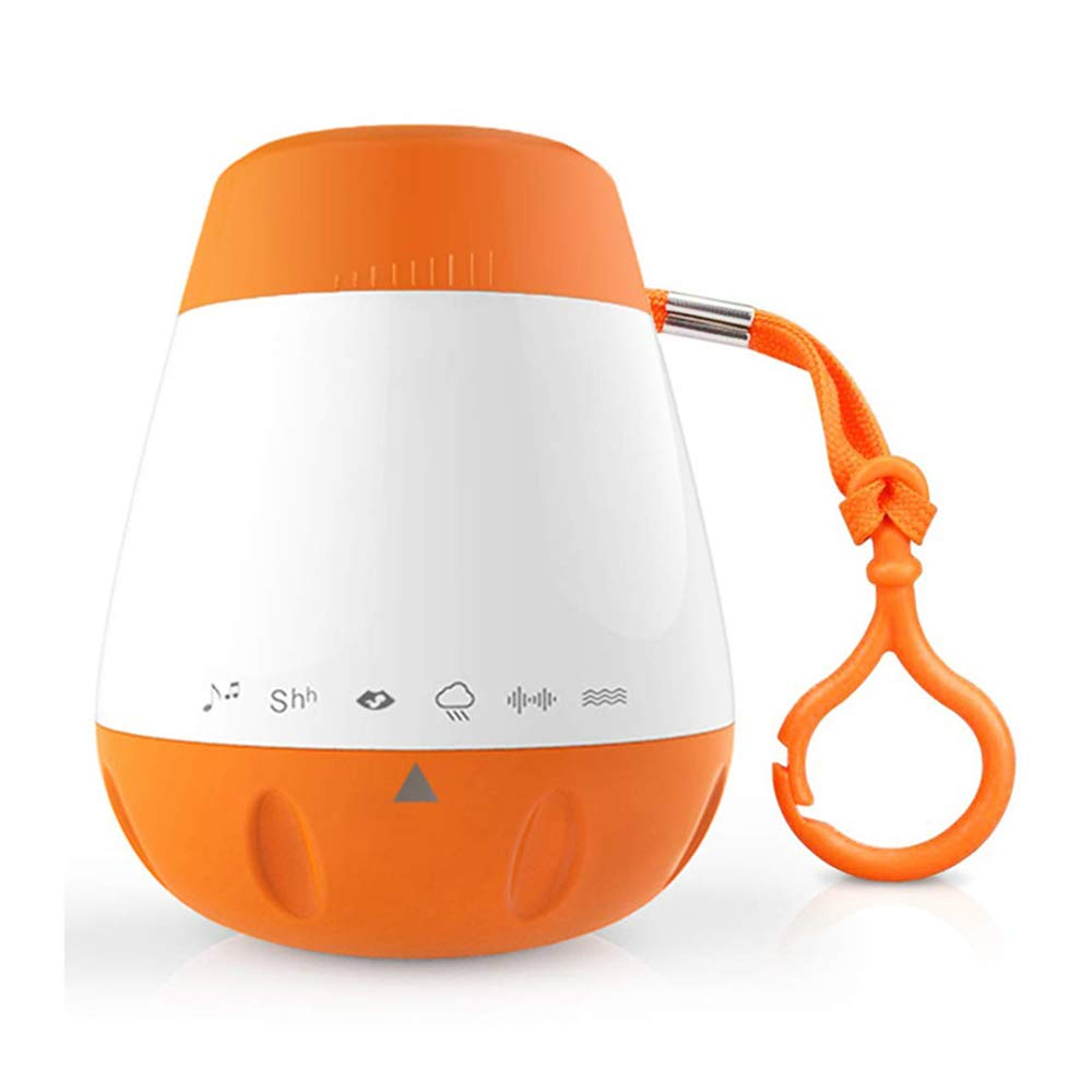 Lybin Baby White Noise Machine,Portable Baby Sleep Suspensible Portable Sound Machine Includes 5 Soothing Sounds for Children
