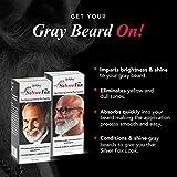 Godefroy Silver Fox Men's Silver And Gray Beard