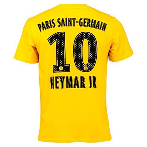 Germain Homme Officiel Psg Saint shirt T 'neymar' Paris Jaune qPxwIO7