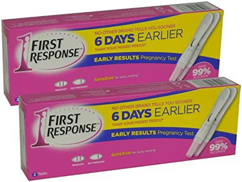 2 x First Response Pregnancy Testing Kits OLD STYLE (2 Test Pack) 4 Tests in Total