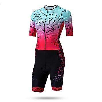 Triatlón Ropa Traje Ciclismo Mujer Exterior Sportswear con ...